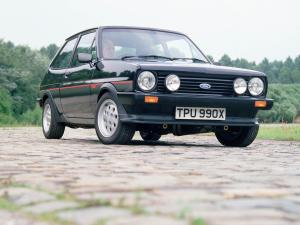 Ford Fiesta XR2 1981 года